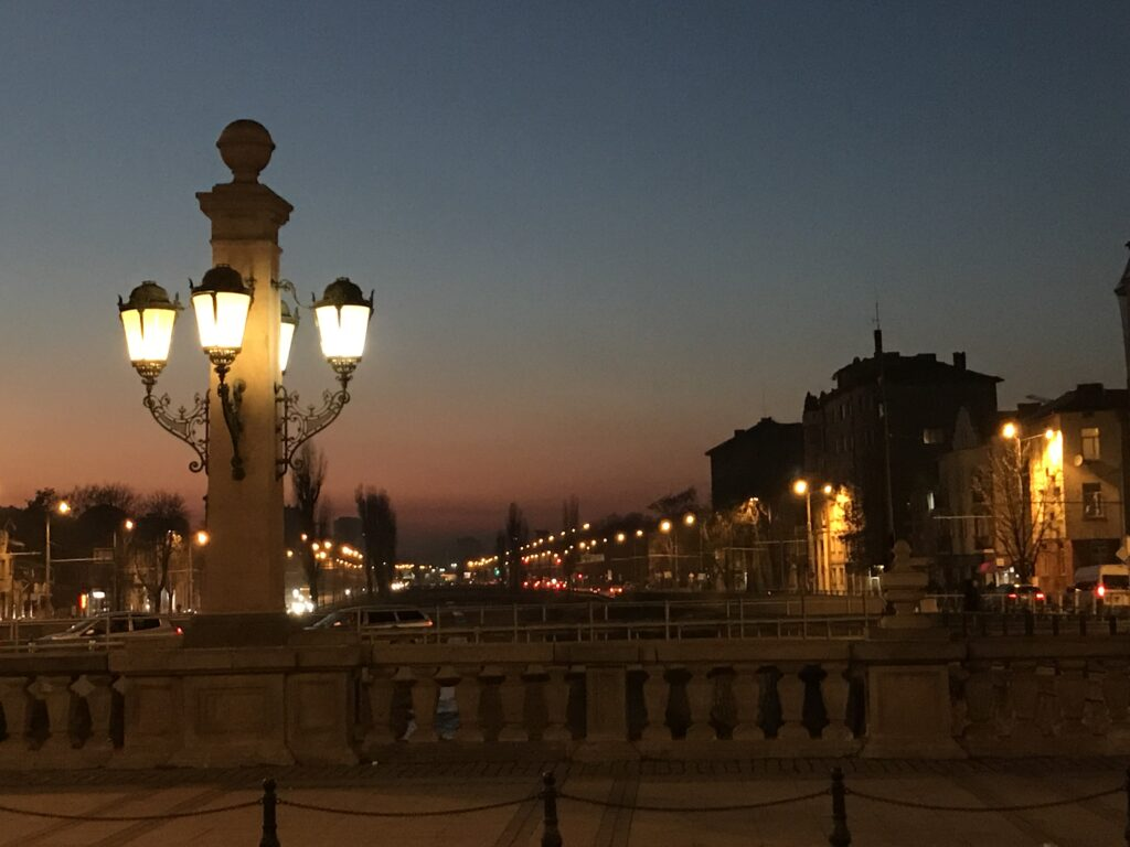 Sofia Bulgaria - Lion´s bridge
