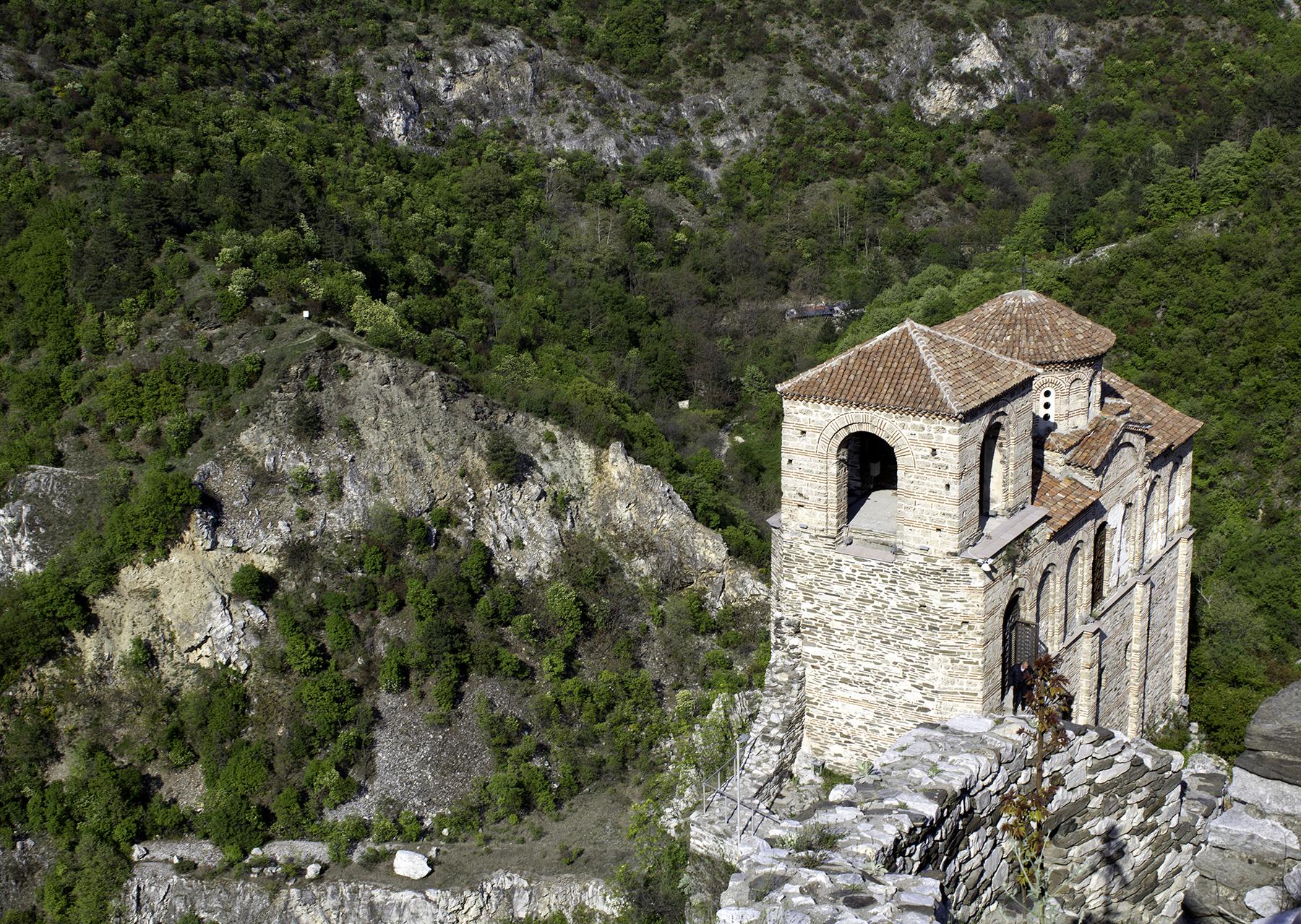 Pyhän Marian kirkko ylhäältä