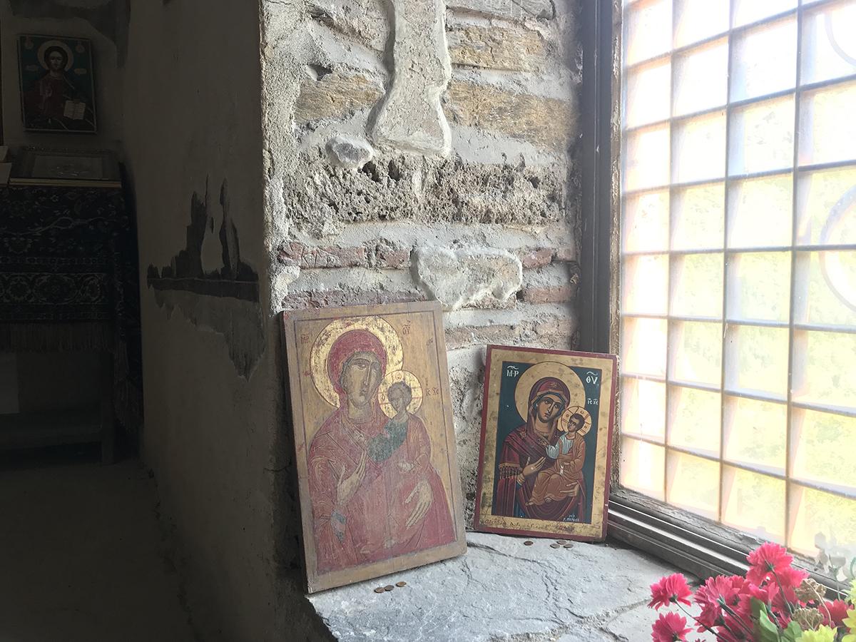 Ikoneita Pyhän Marian kirkossa